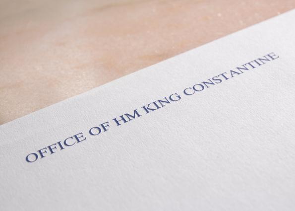 HM KING CONSTANTINE